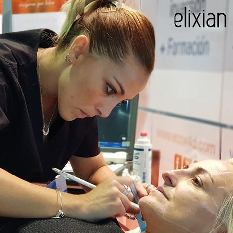 Éxito de Elixian estética avanzada en la feria de Franquishop en Sevilla