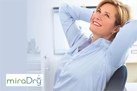 MiraDry, la exclusiva técnica para acabar con la sudoración axilar